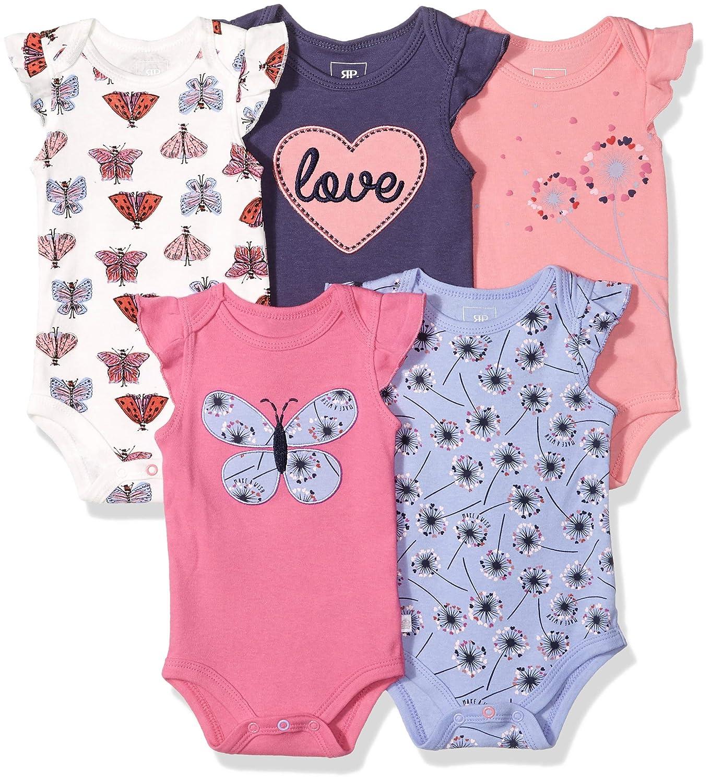 【新品】 Rosie Months Pope ベビー ボディースーツ 5枚組 ( カラーも多数ご用意! - ) ベビー B07DWDS3LL Flower Love 0 - 3 Months 0 - 3 Months|Flower Love, イワミグン:594d8624 --- fbrasil.com