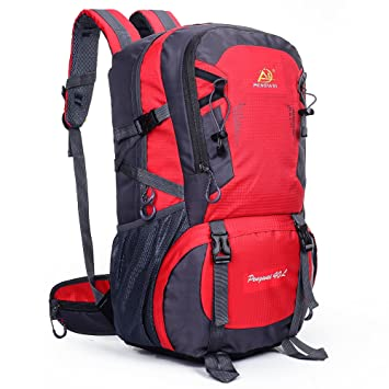 AOKE 40L Outdoor Sports Adventure Waterproof Durable Backpacks Shoulder Bag  for Climbing Camping Hiking Travelling Mountaineering  Amazon.co.uk   Computers   ... 610c309bcd