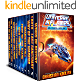 Universe in Flames – Ultimate 10 Book Box Set: An Epic Space Opera Adventure (English Edition)