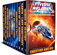 Universe in Flames – Ultimate 10 Book Box Set: An Epic Space Opera Adventure