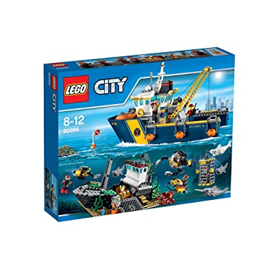 LEGO City 60095 Deep Sea Exploration Vessel: Toys & Games
