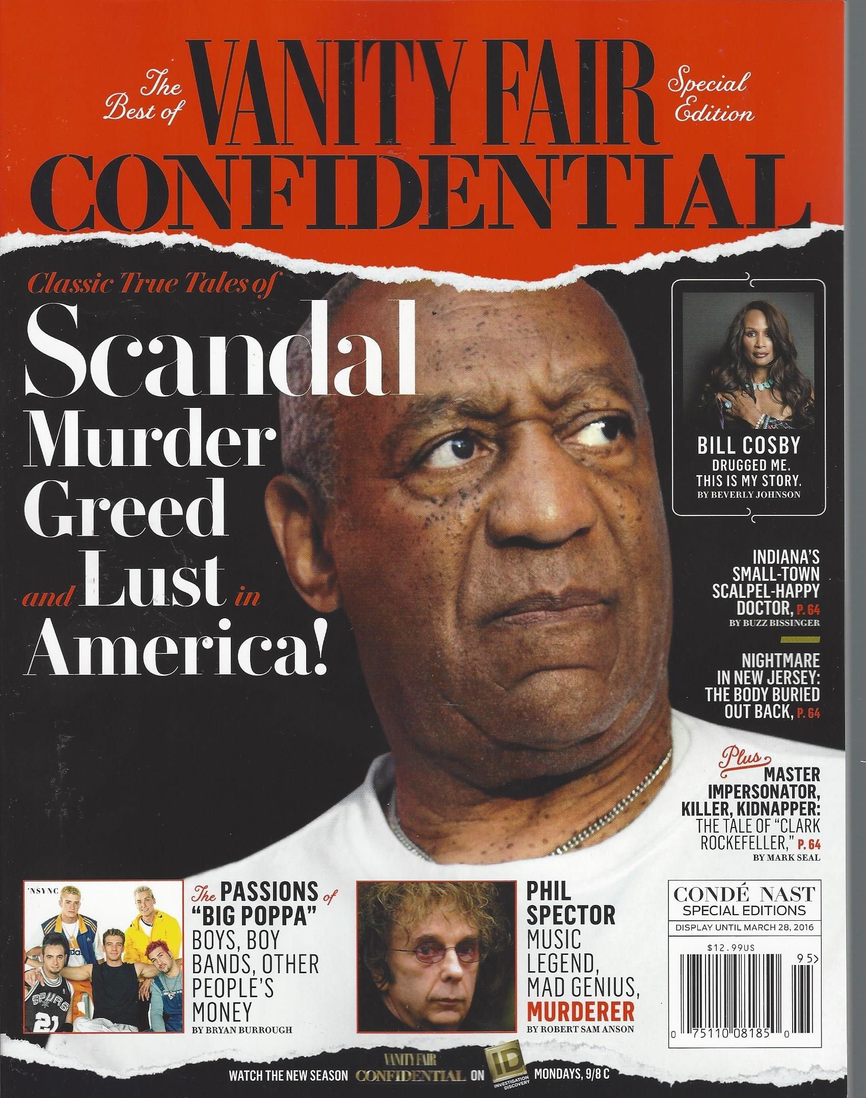 VANITY FAIR CONFIDENTIAL SCANDAL MURDER GREED LUST IN AMERICA [Single Issue Magazine] 2016 ebook