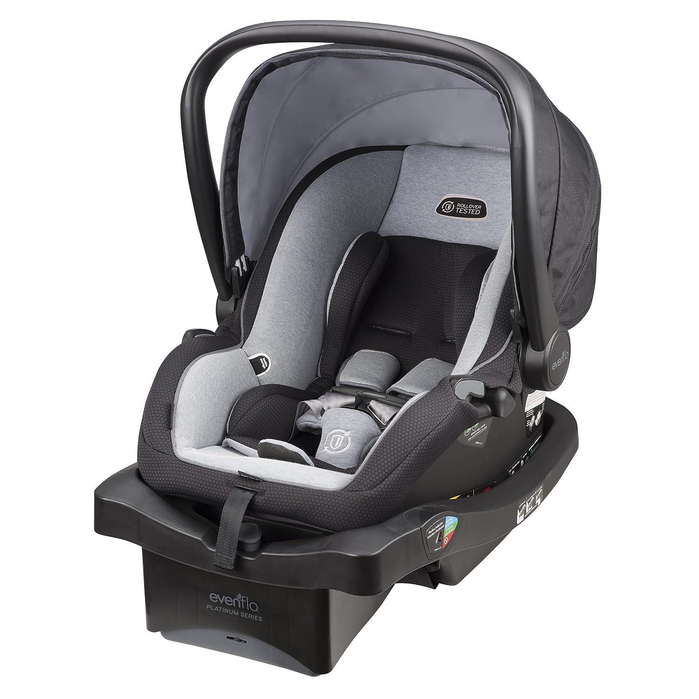 Evenflo LiteMax 35 Platinum Infant Car Seat, Moon Shadow 30511931