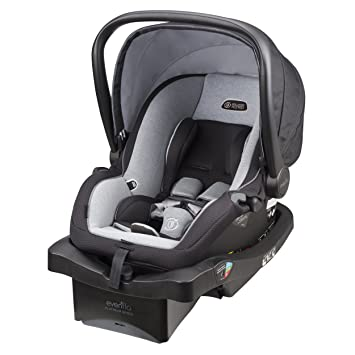 Amazon.com : Evenflo LiteMax 35 Platinum Infant Car Seat, Moon ...