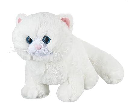 Amazon Com Webkinz 8 5 Snow Soft Kitty Plush Toys Games