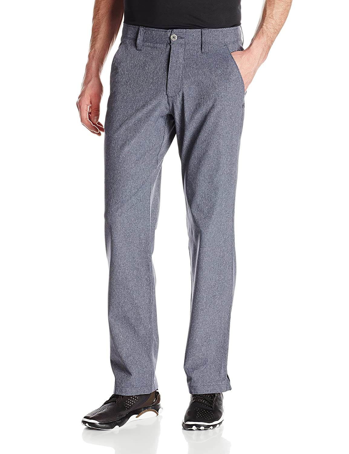 (アンダーアーマー) UNDER ARMOUR UA MATCH PLAY VENTED PANT B00Z9ACKSG 30W x 32L|Stealth Gray/True Gray Heather Stealth Gray/True Gray Heather 30W x 32L