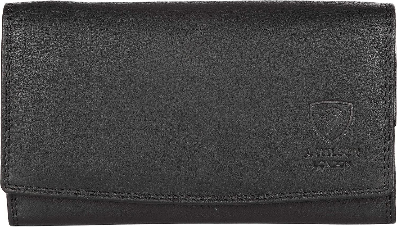 Ladies Designer RFID SAFE Protection Luxury Quality Soft Nappa Leather Purse Multi Credit Card Women Clutch Wallet with Zip pocket