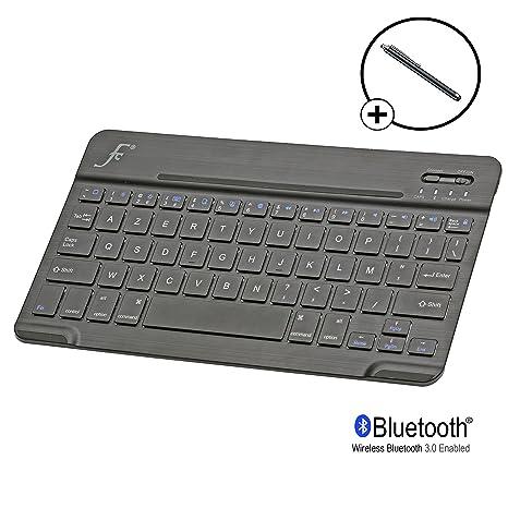 Forefront Cases IPM PLT KB - Funda para Apple iPad Mini (teclado, Bluetooth,
