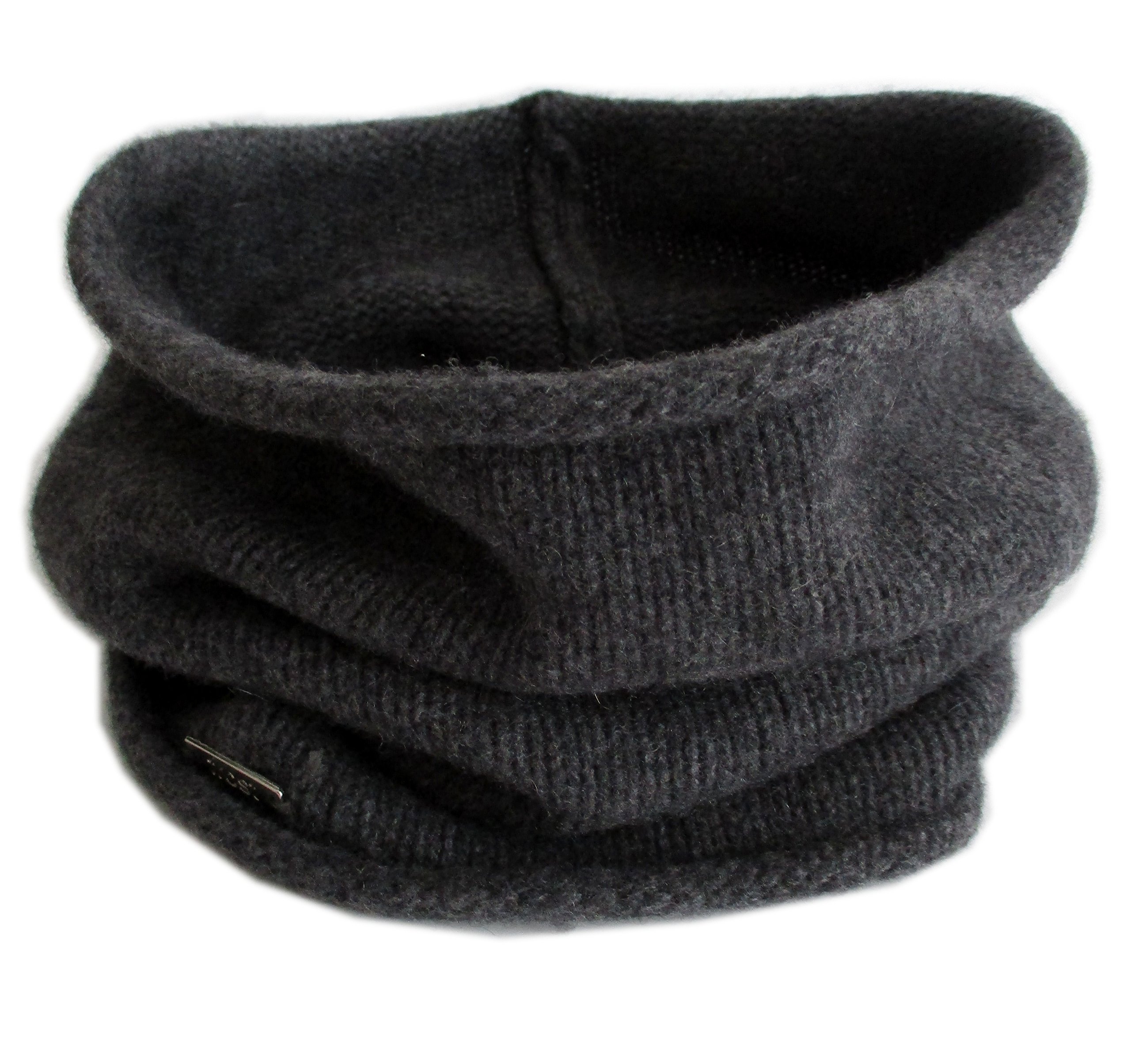 Frost Hats Cashmere Neck Warmer CSH-891 Charcoal by Frost Hats