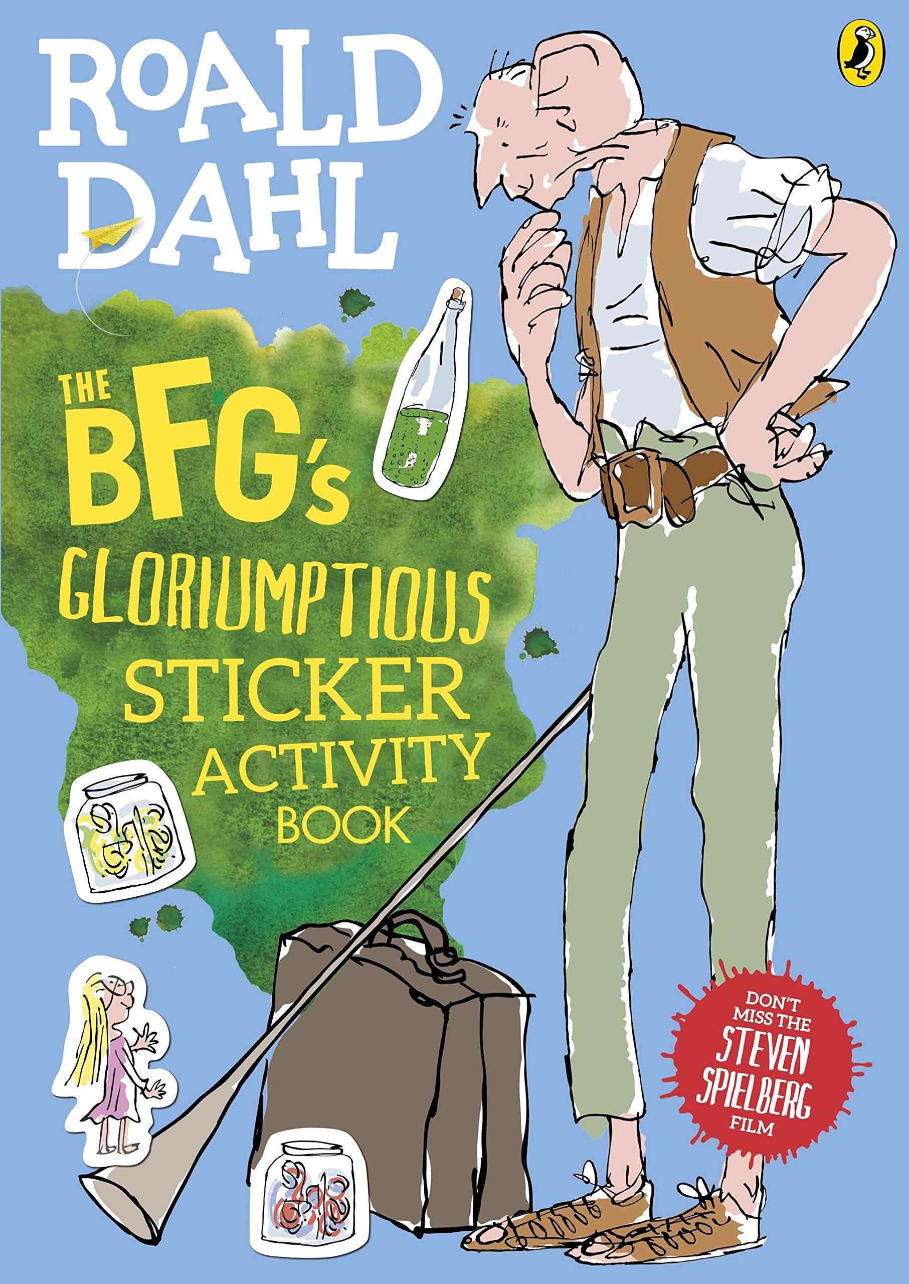The BFG's Gloriumptious Sticker Activity Book PDF ePub fb2 ebook