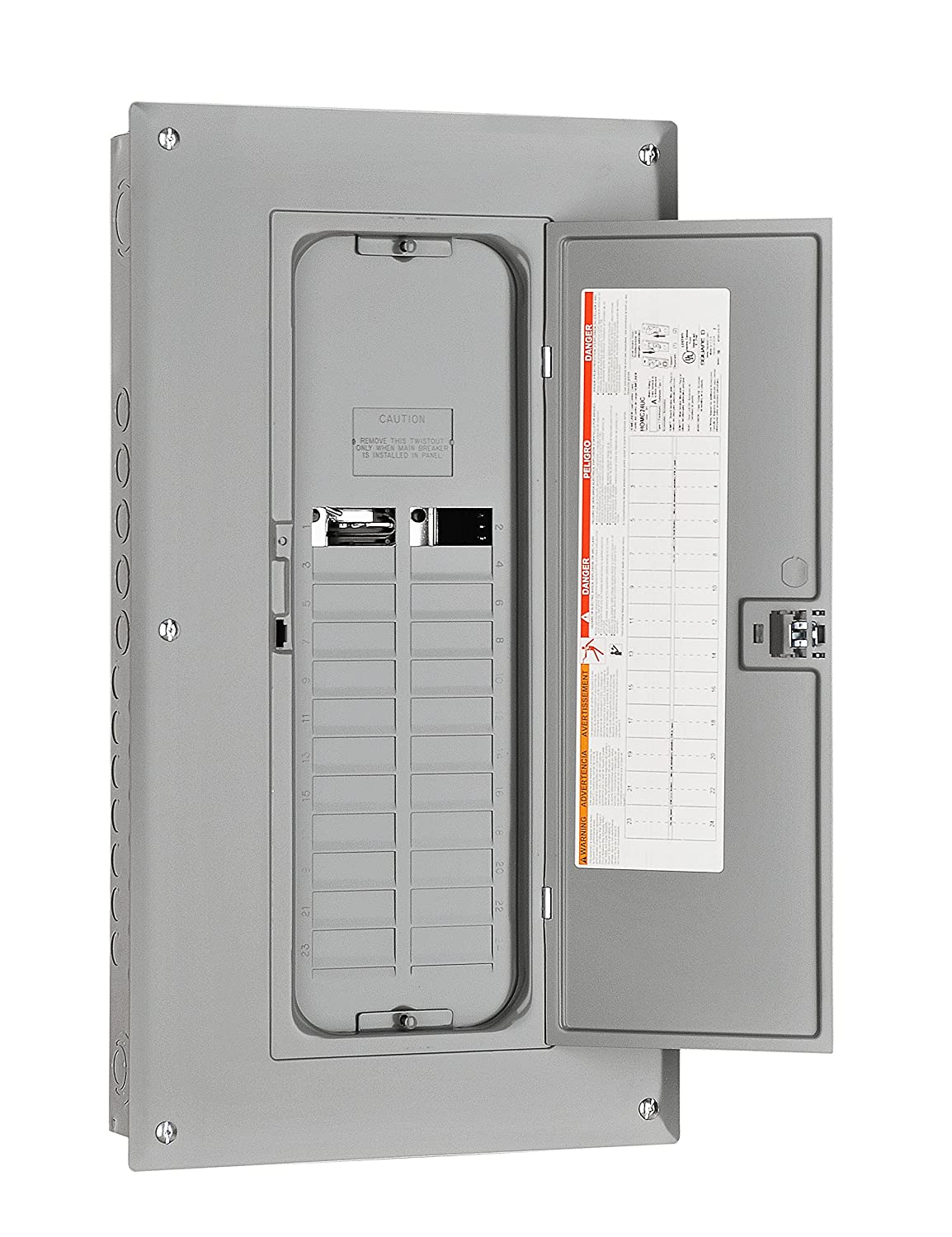 125 Amp Fuse Box Wiring Library A Single Phase Square D 30 By Schneider Electric Hom1632l125pc Homeline 16 Space 32 Circuit