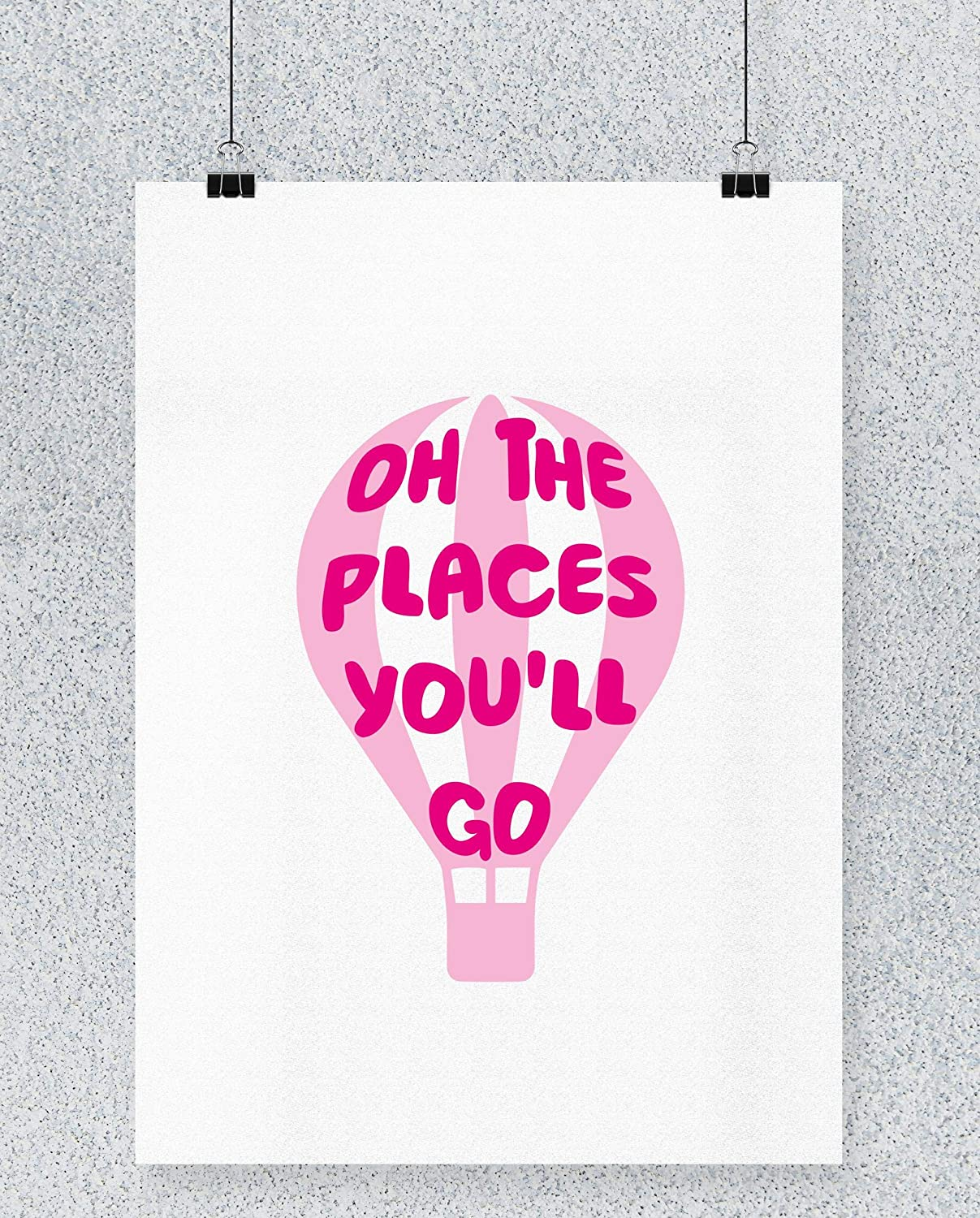 Compra Hippowarehouse Oh The Places YouLl go (Pink) Hot Air ...