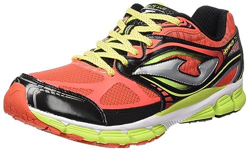 Joma R.hispalis 607 Coral-Negro, Zapatillas de Deporte Exterior para Hombre: Amazon.es: Zapatos y complementos