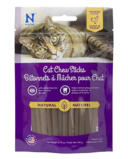 69863511 Amazon.com : N-Bone Cat Chew Treats : Pet Rawhide Treat Bones : Pet ...