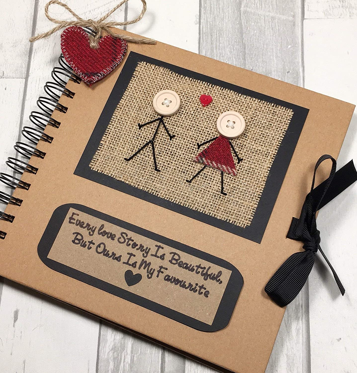 Every Love Story Is Beautiful But Ours Is My Favourite Keepsake Book