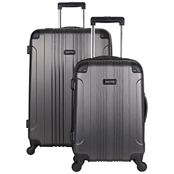 7e0d2aa67 Amazon.com | Kenneth Cole Reaction Out Of Bounds 2-Piece Lightweight  Hardside 4-Wheel Spinner Luggage Set: 20