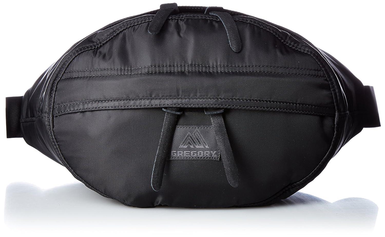 [グレゴリー] ウエストバッグ 公式 アセンドテールメイト B016NTI6WK ブラック ブラック