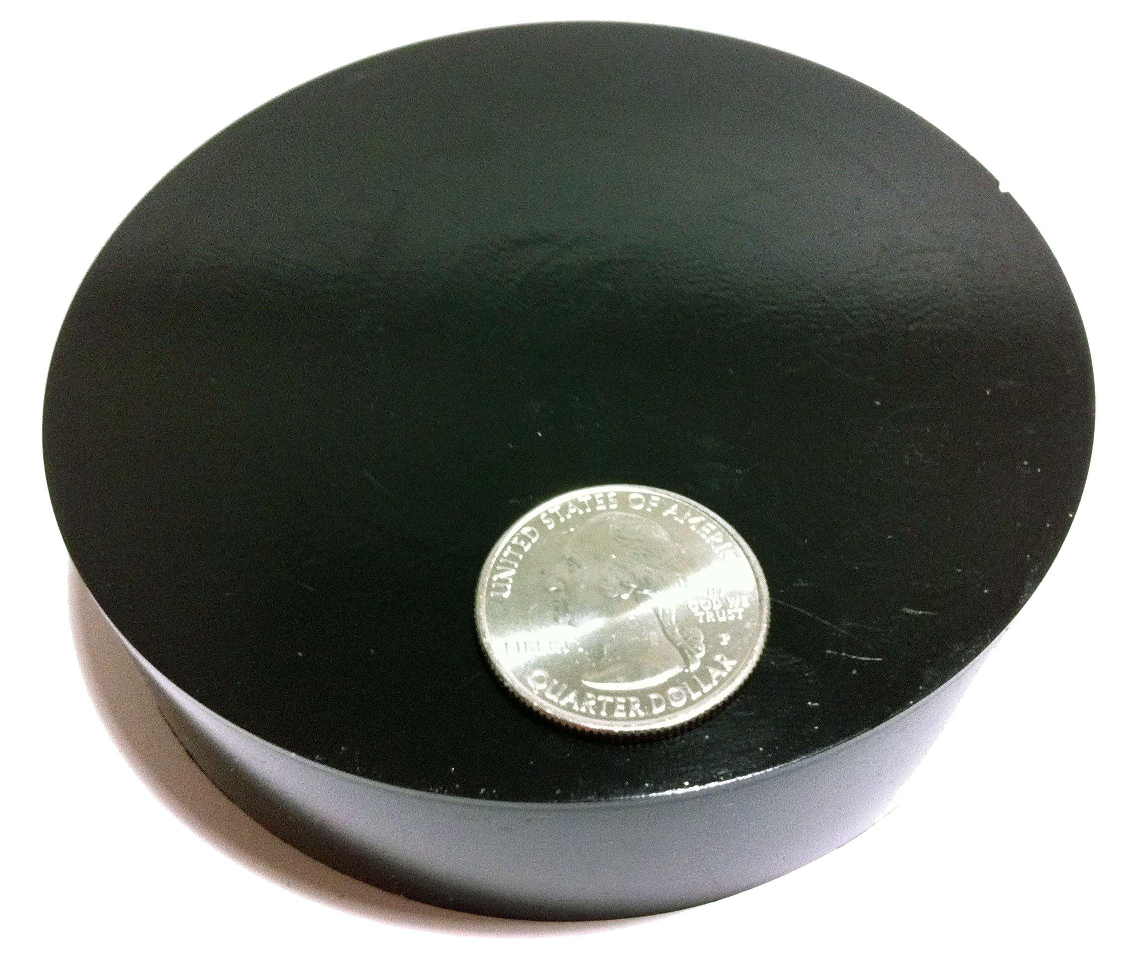 Isolate It: Sorbothane Vibration Isolation Circular Pad 50 Duro (1'' Thick 4'' Dia.) - 4 Pack by Isolate It! (Image #2)