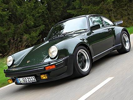 Clásico y músculo anuncios de coche y COCHE arte Porsche 911 (930) Turbo (