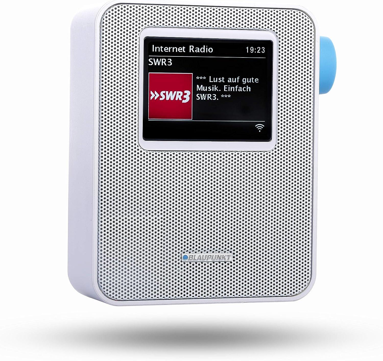 Bluetooth USB Ladestecker BLAUPUNKT PDB 100 WH  Blaupunkt Steckdosenradio PDB 100 DAB+ Digital Radio und UKW Radio mit RDS 30 Senderspeicher  Teleskopantenne Wei/ß