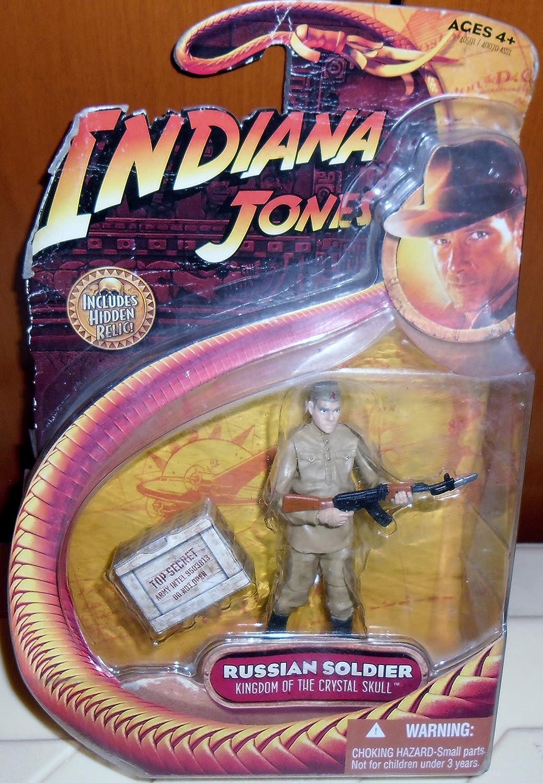 Indiana Jones Reino de la Calavera de Cristal Ruso Soldado Figura de acción: Amazon.es: Juguetes y juegos