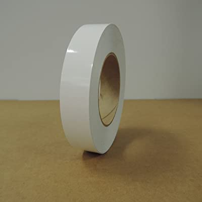 "1"" 3M Vinyl Striping 150' 25 Colors Available (White): Home Improvement"