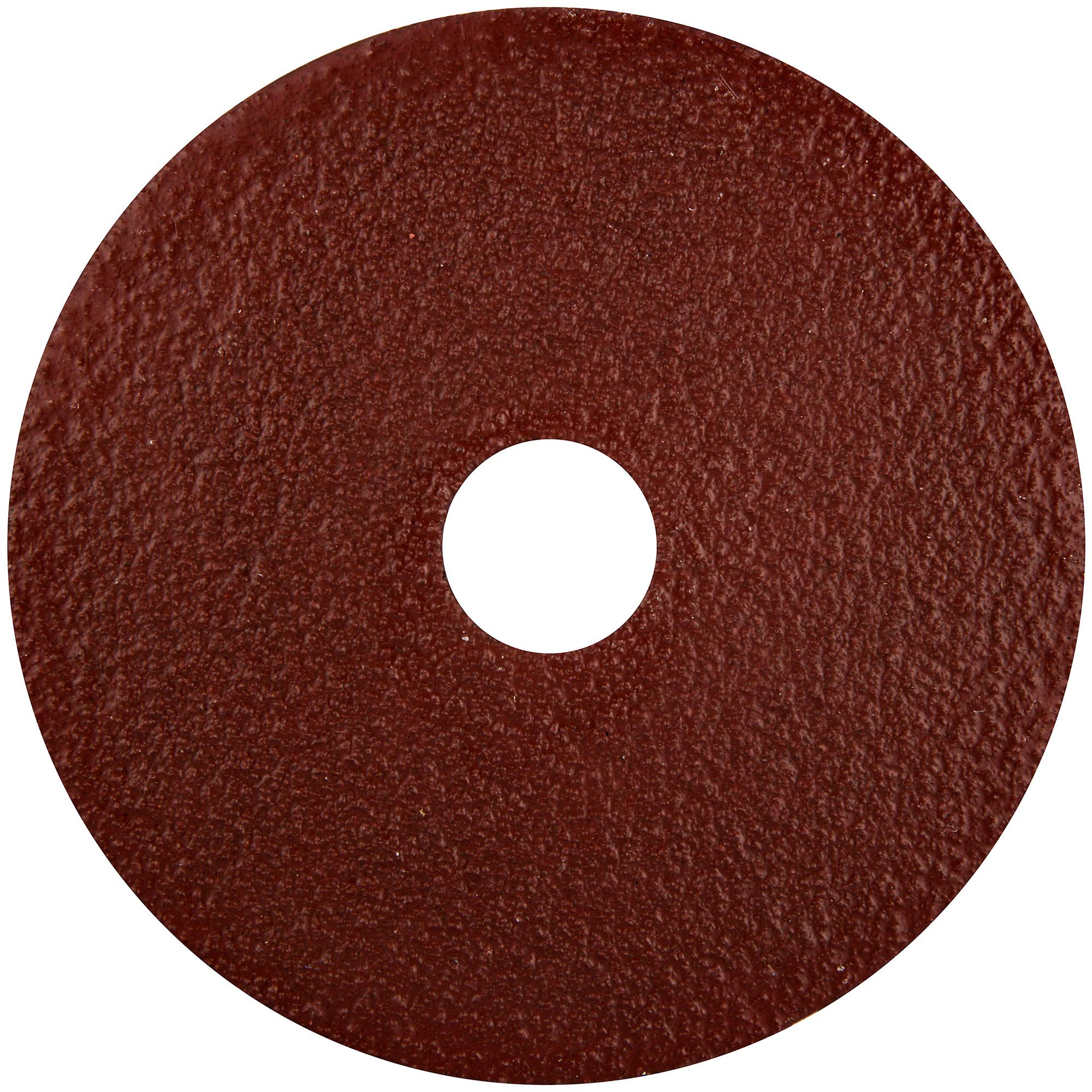 Norton Gemini Metalite F220 Abrasive Disc, Fiber Backing, Aluminum Oxide, 7/8'' Arbor, 4-1/2'' Diameter, Grit 80 (Pack of 25)