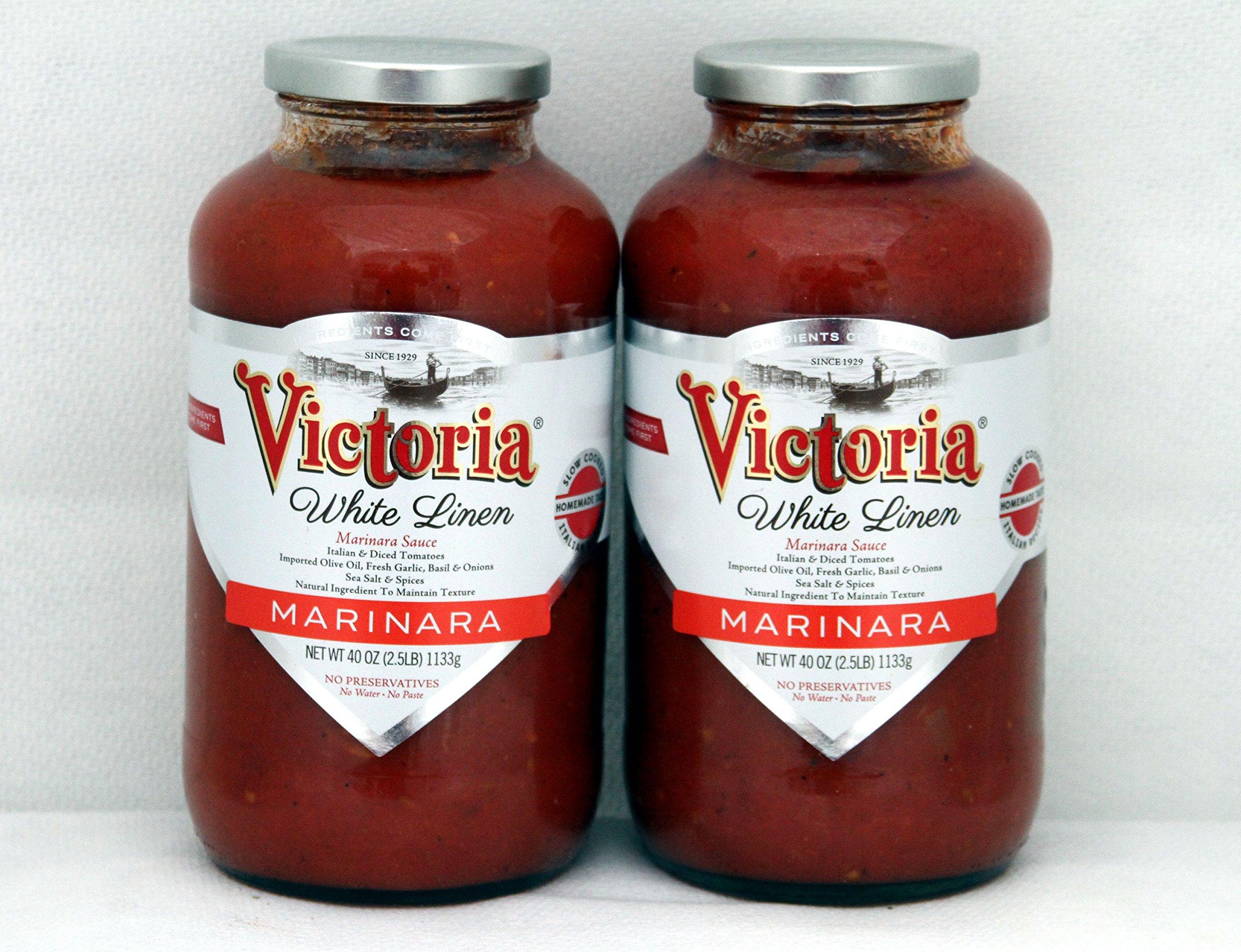 Amazon Com New 40 Oz White Linen Marinara Sauce