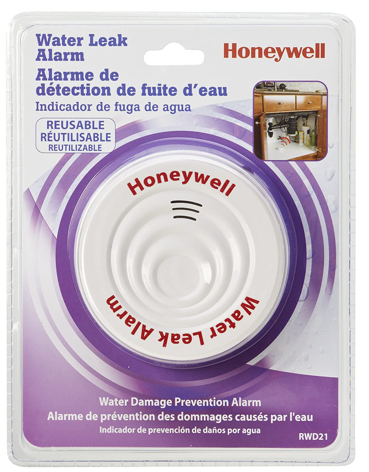 Honeywell Rwd21 Water Leak Alarm Home Improvement Rain Circuit