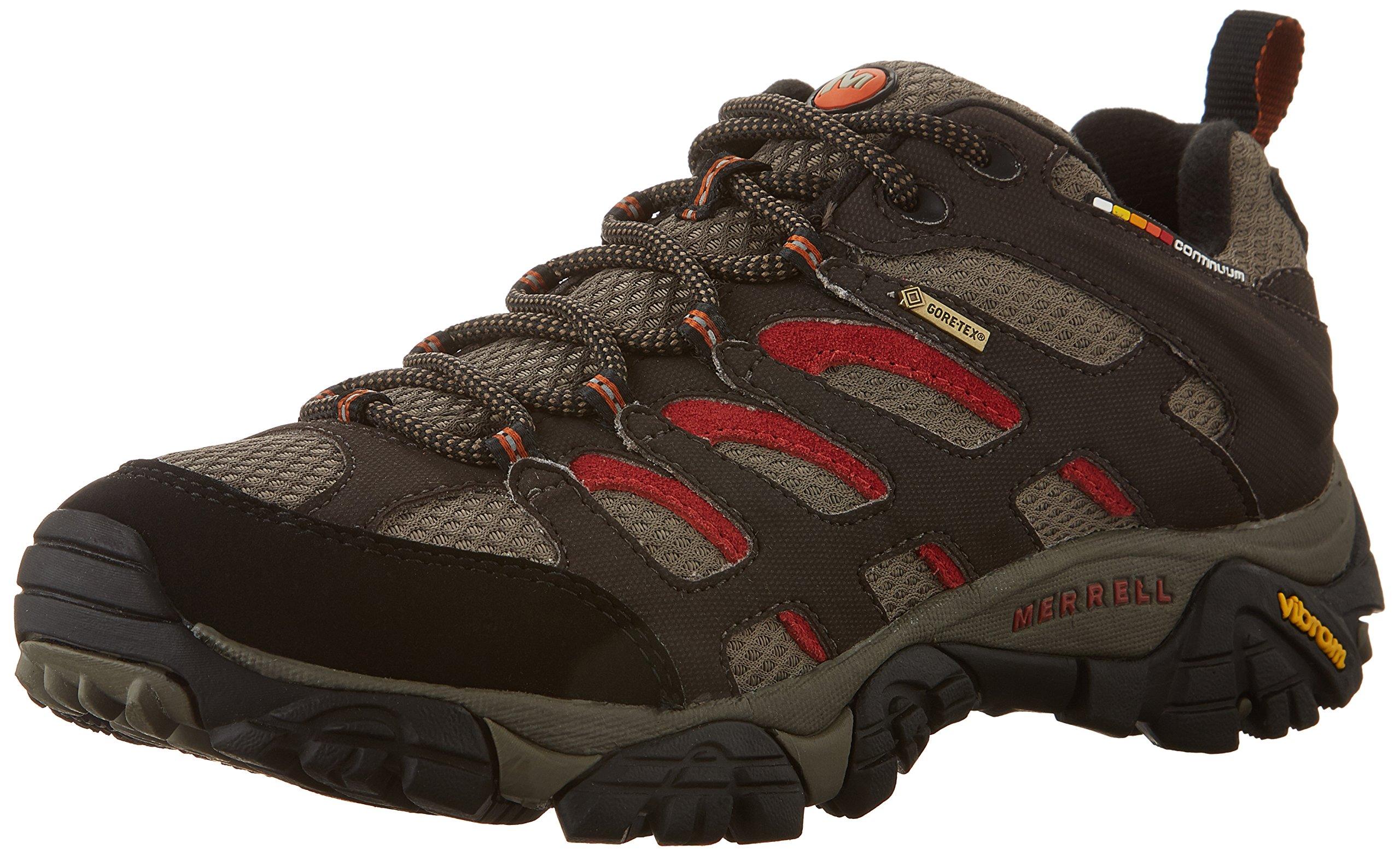 Merrell Men's Moab Gore-Tex Hiking Shoe, Dark