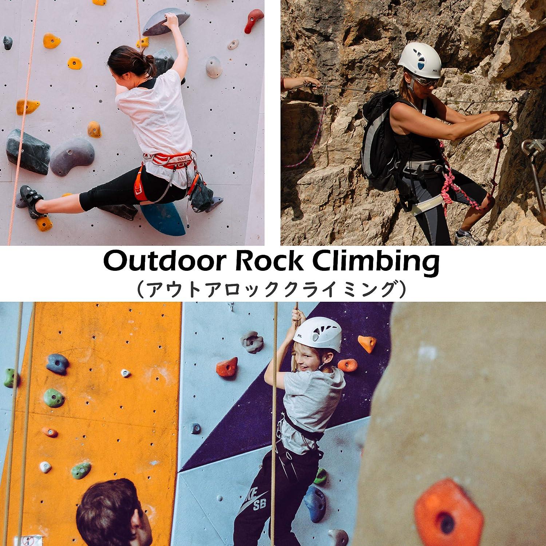 TRIWONDER Arnés de Escalada Proteger Cinturones de Seguridad para Escalada de Rock Montañismo Alpinismo Expedición