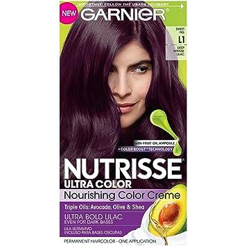Unique Dark Plum Hair Color