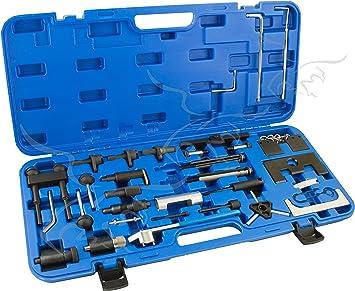 JUEGO DE CALADO PARA REGLAJE DEL GRUPO VAG (Audi, Seat, VW y Skoda): Amazon.es: Bricolaje y herramientas