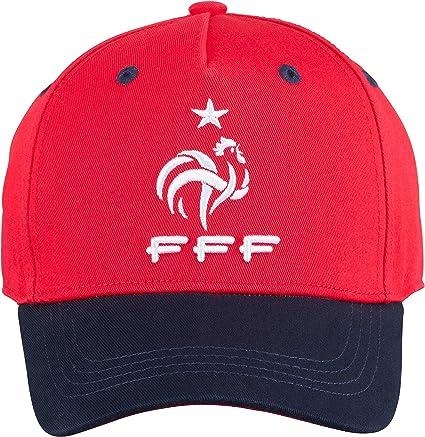 Collection Officielle Taille Enfant Equipe de FRANCE de football Casquette FFF