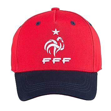 FFF - Gorra Oficial de la selección de Francia de fútbol - Talla ...