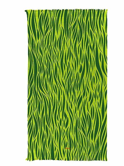 Pareo toalla de playa estampada – Motifs sabana – grande 100 x 180 cm – algodón