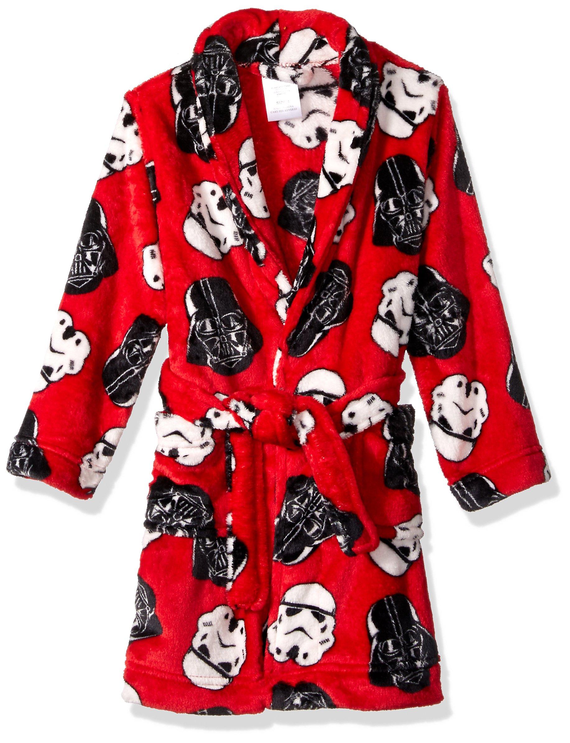 Star Wars Boys' Big Robe, red, 8