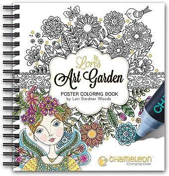 Livro De Colorir Chameleon Cc0501 Branco Amazon Com Br