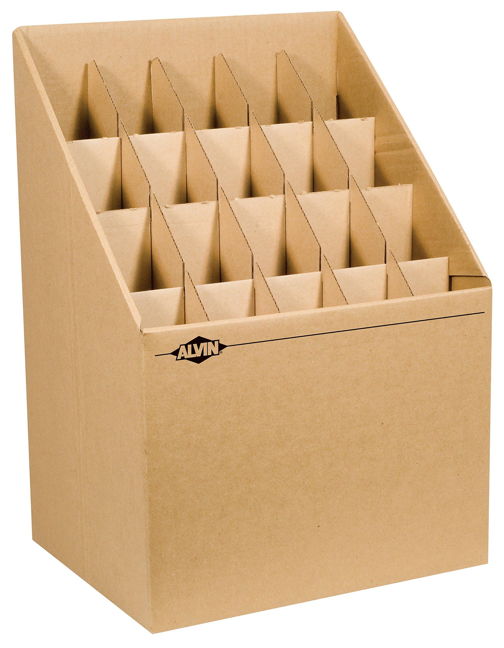 Alvin ARF12 Upright Roll File 12 Slots (20 Slots)