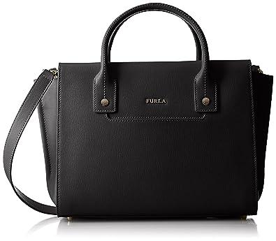 Shoulder Bag for Women, Black, Leather, 2017, one size Furla
