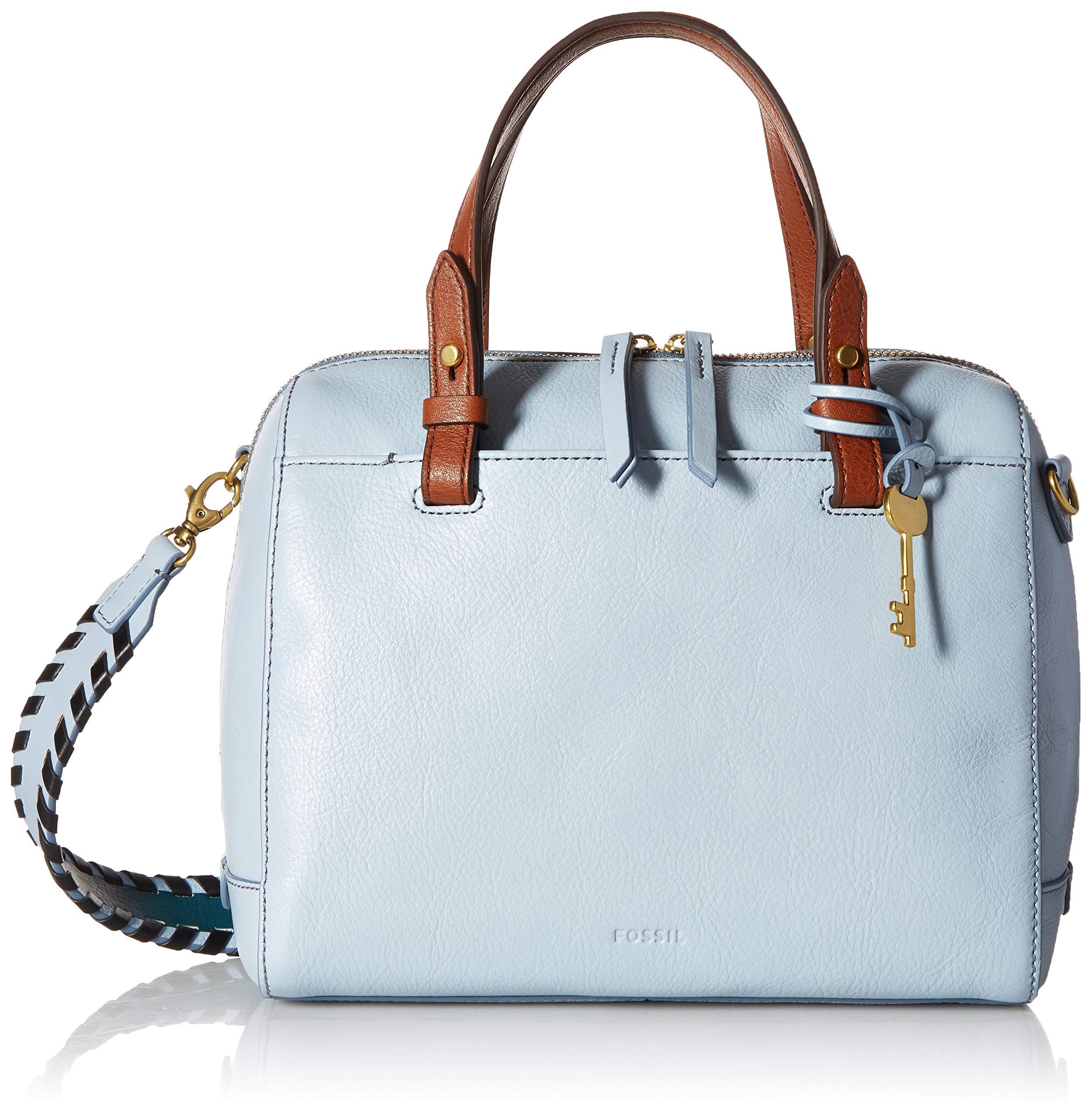 Fossil Rachel Satchel Handbag, Horizon Blue