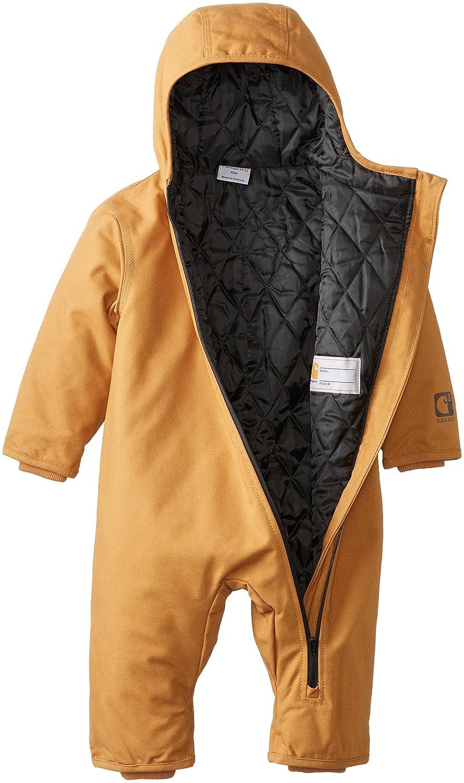fcfadadf9 Amazon.com: Carhartt Baby Boys' Quick Duck Snowsuit: Clothing