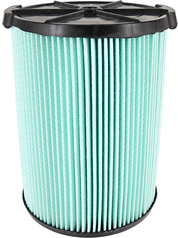 Ridgid VF6000 Replacement 5-Layer Dirt Wet//Dry Vac Filter 5-20 Gallon Vacuums