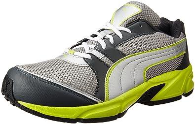 77197312e9b Puma Men s Strike Fashion II Dp Dark Shadow and Sulphur Running Shoes - 11  UK