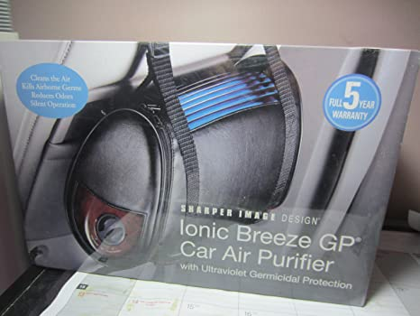 Amazoncom Sharper Image Ionic Breeze Gp Car Air Purifier With Uv