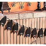 """Layered Bat Garland. 5""""h Bats. 60"""". Felt."""