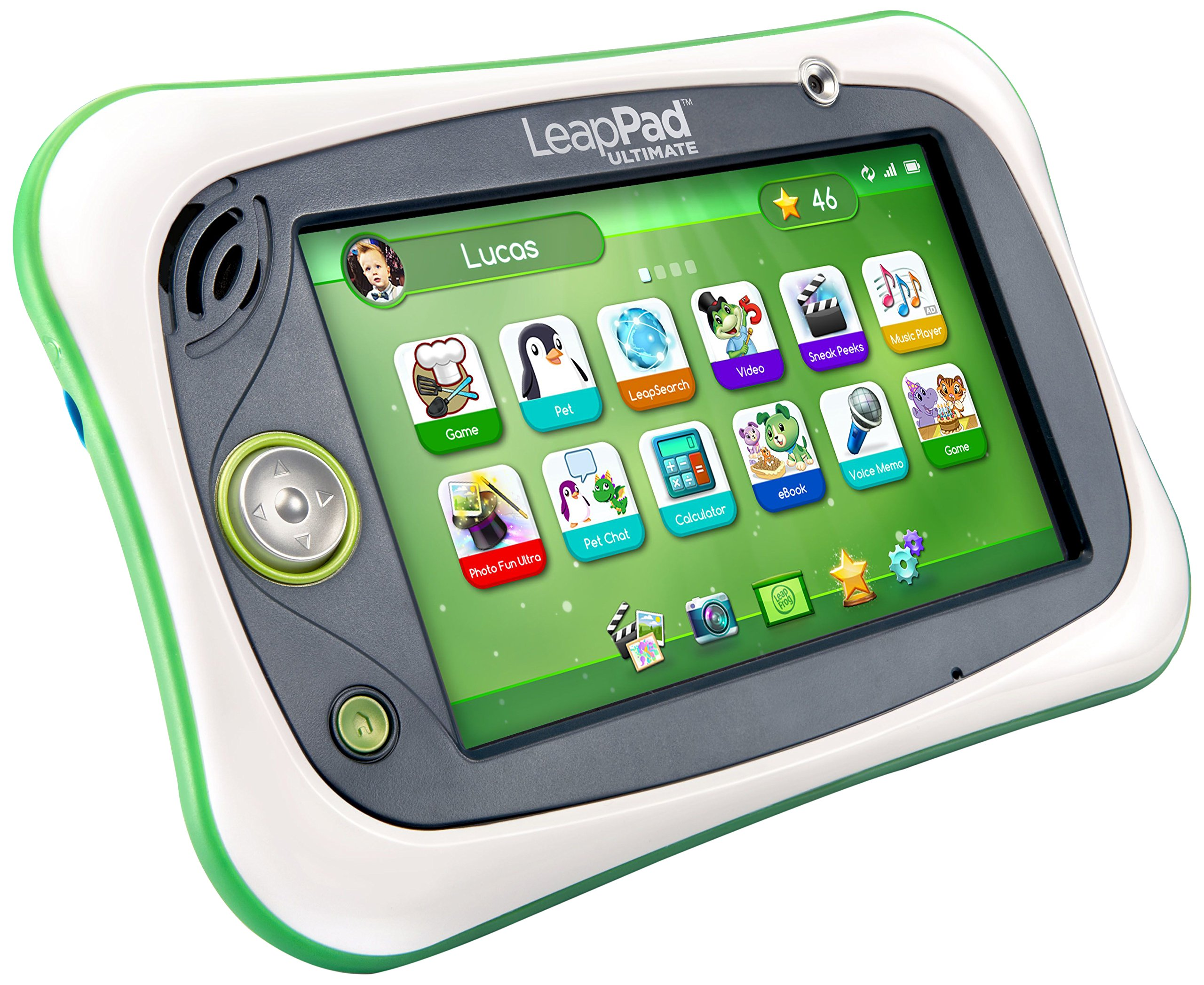 LeapPad Ultimate Kids Learning Tablet (Green) by LeapFrog (Image #1)
