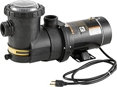 Amazon Com Jacuzzi Slr 1 1 2 Hp Above Ground Pool Pump