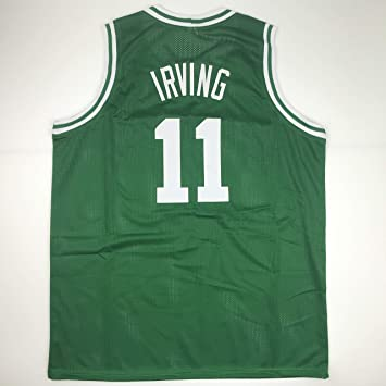 0928f31ce3e0 Unsigned Kyrie Irving Boston Green Custom Stitched Basketball Jersey Size  Men s XL New No Brands