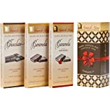Classico Collection 3 Pack Gift - Chocolate, Caramela, Cherry Caramela. Vegan, Organic, Non-GMO, Low Glycemic. Free of Gluten, Dairy, Soy, Sesame, Peanuts, Tree Nuts, Egg, Corn, Common Allergens